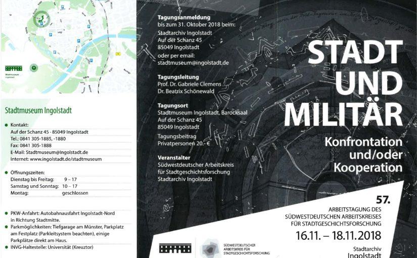 """Conference review """"Stadt und Militär. Konfrontation und/oder Kooperation"""" (November 16-18, 2018)"""