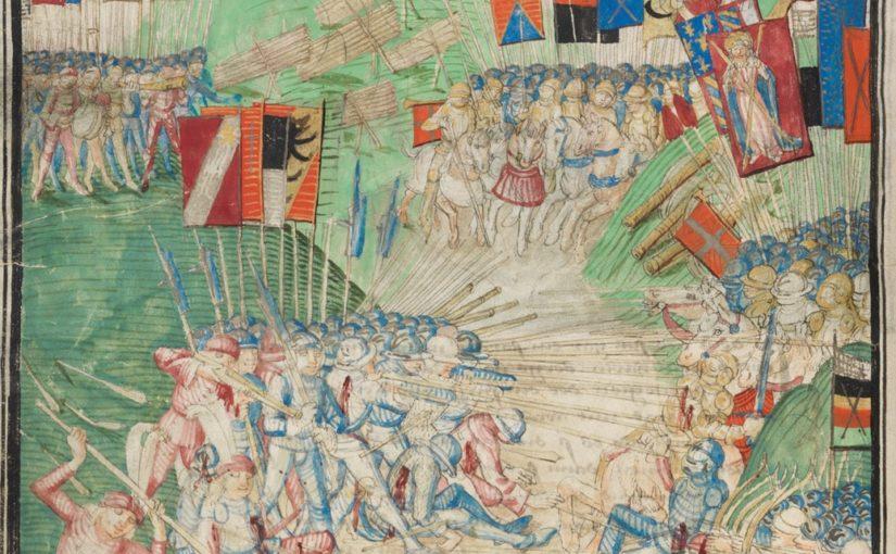 Les armes d'hast suisses  au temps des guerres de Bourgogne