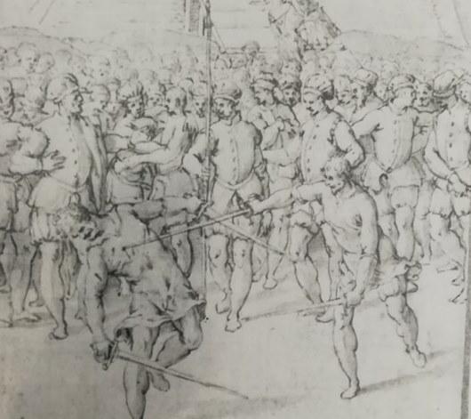 """""""A true son of Mars"""": Ascanio della Corgna's urban duels"""