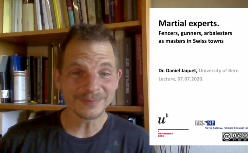 [IMC2020] Martial Experts. Fencers, gunners, and arbalesters in Swiss Towns (1350-1550)