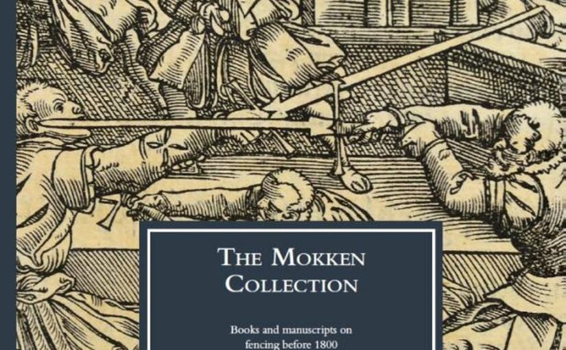 Book review – Miriam Vogelaar, The Mokken Collection: Books and manuscripts on fencing before 1800