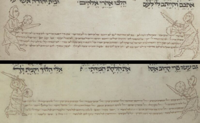 Sword and Buckler in Hebrew Letters: Traces of Early Illuminated German Fight Books in Jewish Manuscripts