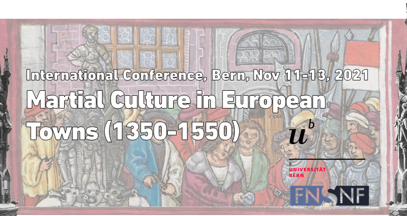 Upcoming international conference: Martial Culture in European Towns (1350-1550)