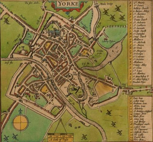 York: Capital of the North, stronghold against the Scots and Richard III's retinue