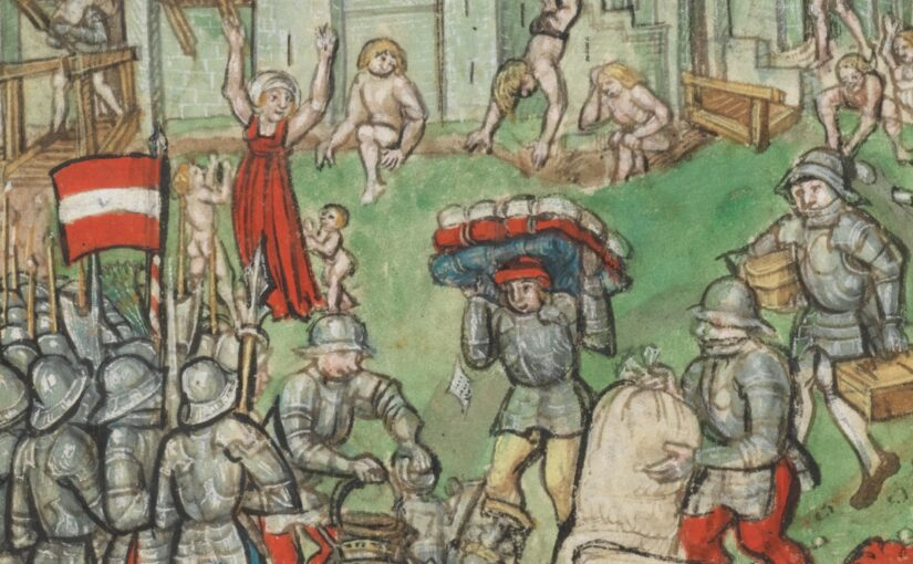 """Marvel in the archives – """"Drinking the wine and looting the church: the plundering of Illens in 1475"""""""